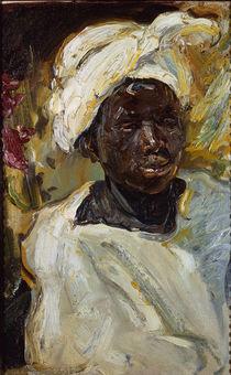 Slevogt, Negerjunge Mursi / 1914 von AKG  Images