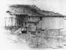 L. Knaus, Studie eines Bauernhauses von AKG  Images