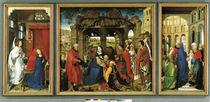 R.van der Weyden, Dreikoenigsaltar by AKG  Images