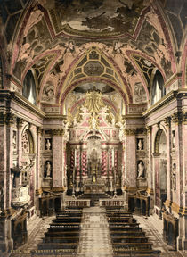 Venedig, S.Maria degli Scalzi/Photochrom von AKG  Images