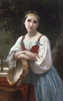 W.A.Bouguereau, Zigeunerin mit Pandero von AKG  Images