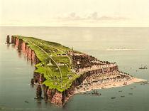 Helgoland aus der Vogelschau /Photochrom von AKG  Images