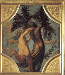 Tintoretto, Apollo und Daphne von AKG  Images