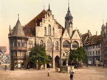 Hildesheim, Rathaus / Photochrom von AKG  Images