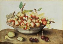 G.Garzoni, Schale mit kleinen Birnen von AKG  Images