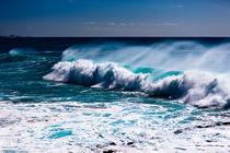 Breaking Wave by Joel Morin