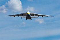 Antonov 225 on Final Approach by Joel Morin