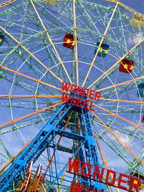 "New YOrk CIty , USA   ""wonder wheel , coney island"" by ushkaphotography"