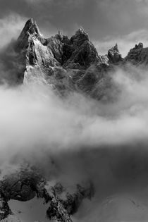 Chamonix Mountain Cloud by Angela Percival