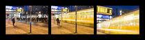 Triptych - Tram station von Ricardo Ribas