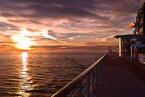 Alaskan Sunset Cruise by Ken Williams