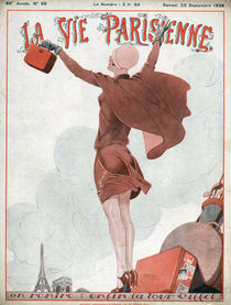 'La Vie Parisienne, 1928' von Advertising Archives