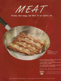 'American Meat Institute,  1950s' von Advertising Archives