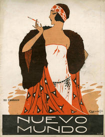 'Nuevo Mundo, 1923' von Advertising Archives