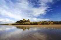England, Northumberland, Bamburgh Castle by Jason Friend