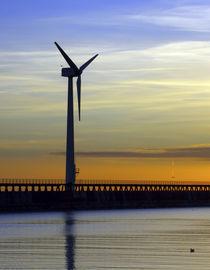 England, Northumberland, Blyth Offshore Wind Farm by Jason Friend