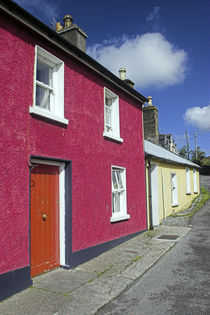 Ireland County Kerry Dingle The brightly painter colours of a house in Dingle by Jason Friend