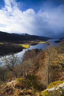 Scotland, Scottish Highlands, Loch Tummel. by Jason Friend