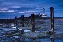 England, Tyne &Amp; Wear, St Mary'S Lighthouse. by Jason Friend