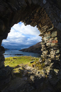 Scotland, Scottish Highlands, Strome Castle. by Jason Friend