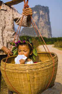 China, Autonomen Region Guangxi Zhuang, Yangshuo County. von Jason Friend