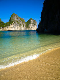 Vietnam, Northern Vietnam, Halong Bay. by Jason Friend