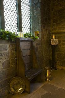 England, Tyne and Wear, St. Pauls-Kloster und Kirche in Jarrow. von Jason Friend