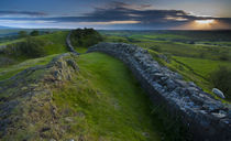 England, Northumberland, Hadrian's Wall. von Jason Friend
