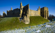 England, Northumberland, Warkworth Castle. by Jason Friend
