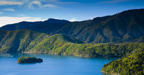 Neuseeland, Marlborough, Queen Charlotte Sound. von Jason Friend