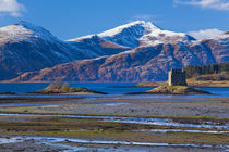 Schottland, Schottische Highlands, Castle Stalker. von Jason Friend