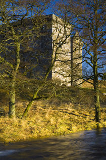 Scotland, Scottish Borders, Hermitage Castle. by Jason Friend