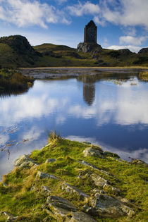 Scotland, Scottish Borders, Smailholm Tower. by Jason Friend