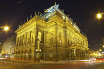 Czech Republic, Prague, National Theatre by Jason Friend