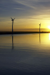 England, Northumberland, Blyth Offshore-Windpark von Jason Friend