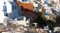 Santorini Oia Dwellings by Graham Hughes