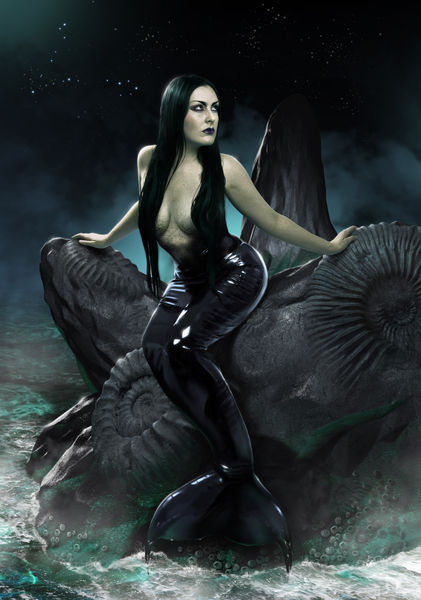 Pisces-mermaid