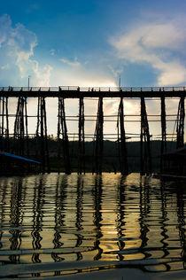Wooden Mon Bridge von netphotographer