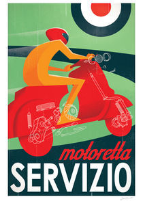 Motoretta Servizio by Textbook Example