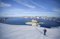 Crater Lake Ski by Scott Spiker