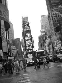 Times square madness ... von Benjamin Gaie