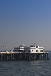 Pier in the sea, Malibu Pier, Malibu, Los Angeles County, California, USA von Panoramic Images