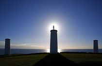 The Metal Man Shipping Beacon by Panoramic Images