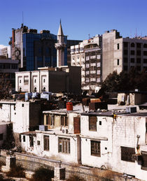 Houses in a city, Syria by Panoramic Images