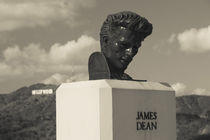 Bust of actor James Dean von Panoramic Images
