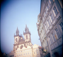 Low angle view of a church, Tyn Church, Old Town, Prague, Czech Republic by Panoramic Images