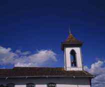 High section view of a church, Diamantina, Minas Gerais, Brazil by Panoramic Images