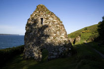 St Declan's Hermitage, (Dysery Church), Ardmore, Co Waterford, Ireland von Panoramic Images