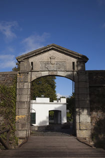 Gateway of a city, Porton De Campo, Colonia Del Sacramento, Uruguay von Panoramic Images