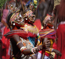 People of the Samburu tribe von Panoramic Images